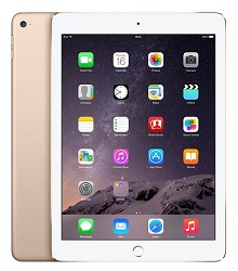 Apple iPad Air 2 16GB WiFi (Gold) (Refurbished) LARGE