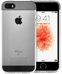 Apple iPhone SE 16GB Space Gray with FREE! Case (Refurbished)
