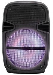 "Supersonic IQ-4108DJBT 8"" Portable Bluetooth DJ Speaker"