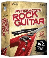 eMedia Interactive Rock Guitar Lessons (Download) LARGE