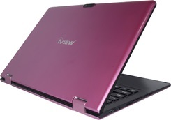 "iView MAXIMUS 11.6"" Touchscreen Intel Quad Core 2GB RAM 4-in-1 Convertible Laptop PC (Pink)"