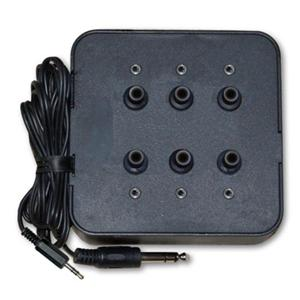 Avid 6KP35S 6-Outlet Stereo Jack Box with Volume Control