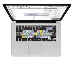 KB Covers Adobe InDesign Keyboard Cover for MacBook, MacBook Air & MacBook Pro_LARGE