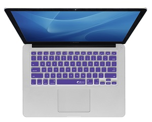KB Covers Keyboard Cover for MacBook, MacBook Air & MacBook Pro (Purple)