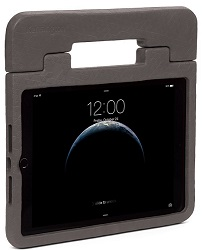 "Kensington SafeGrip Rugged Case for Apple iPad Air, iPad Air 2 & 9.7"" 2017-2018 (Charcoal) LARGE"