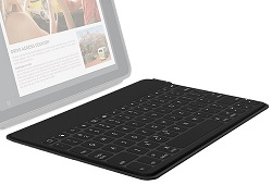 Logitech Ultra-Portable Bluetooth iPad Keyboard LARGE