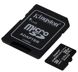 Kingston Canvas Select Plus microSD Card LARGE