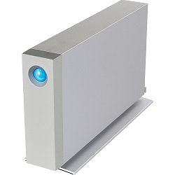 LaCie d2 Thunderbolt 2 / USB 3.0 8TB Desktop Hard Drive with FREE AntiVirus Software