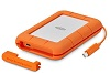 LaCie Rugged Thunderbolt USB-C 2TB Portable Hard Drive with FREE AntiVirus Software (Windows)
