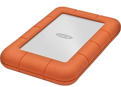 LaCie Rugged Mini 1TB Portable Hard Drive with FREE AntiVirus Software & 16GB USB 3.0 Flash Drive