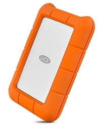 LaCie Rugged USB-C 1TB Portable Hard Drive