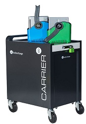 LockNCharge Carrier 20 Cart for Chromebook, Tablet & iPad Devices (Charge Only) LARGE