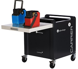 LockNCharge Carrier 30 Cart for Chromebook, Tablet & iPad Devices (Sync & Charge)