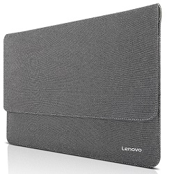 "Lenovo Ultra Slim Carrying Sleeve for 15"" Devices (Gray) LARGE"