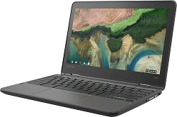 "Lenovo 300e 11.6"" Touchscreen MediaTek 8173c 4GB RAM 32GB eMMC 2-in-1 Chromebook PC"