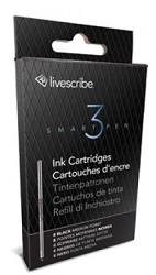 Livescribe 3 Medium Point Ink Cartridge Refills 8-Pack (Black)_LARGE