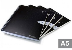 Livescribe A5 Single Subject Notebook 4-Pack (#1-4)_LARGE
