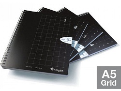 Livescribe A5 Grid Notebook 4-Pack (#1-4)