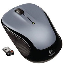 Logitech M325 Wireless Mouse (Silver)