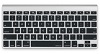 Macally Protective Keyboard Cover for MacBooks (Black)