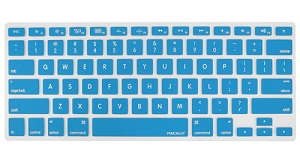 Macally Protective Keyboard Cover for MacBooks (Blue)