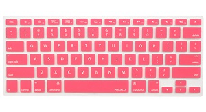 Macally Protective Keyboard Cover for MacBooks (Pink)