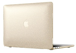 "Speck SmartShell Case for MacBook Pro 2016 13"" with FREE Lighting Cable & Adapter (Glitter Gold)"