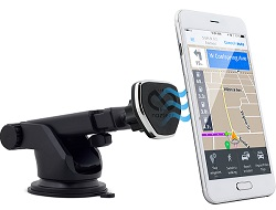 Naztech MagBuddy Telescopic Dash Mount for Smartphone, Tablet or GPS LARGE
