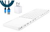 Twelve South MagicBridge for Magic Trackpad 2 & Keyboard with FREE Lightning Cable & USB Adapter