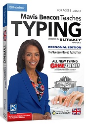Mavis Beacon Teaches Typing UltraKey2 Personal Edition - Windows Download LARGE