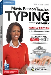 Mavis Beacon Teaches Typing Powered by UltraKey for Windows (Download)