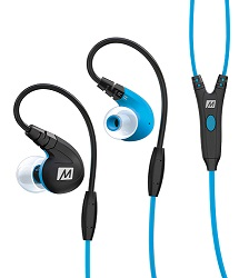 MEE Audio Sport-Fi M7P In-Ear Earphones with Bluetooth Adapter (Blue)