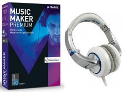 MAGIX Music Maker Premium DJ Edition (Download) (While They Last!)