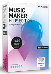 MAGIX ANR008433EDU Music Maker 2019 Plus Edition (Download