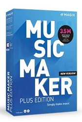 MAGIX Music Maker 2021 Plus Edition (Download) LARGE