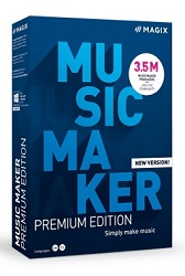 MAGIX Music Maker 2021 Premium Edition with Sound Forge Audio Studio (Download) (On Sale!) LARGE