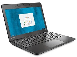 "Lenovo N23 11.6"" Intel Celeron 4GB RAM Rugged Chromebook PC with Rotating Webcam (On Sale!)"