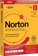 Symantec Norton AntiVirus Plus 1-Year Subscription for Mac or Windows (Download) LARGE