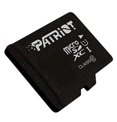 Patriot Memory LX Series Class 10 microSDHC/XC Memory Card LARGE