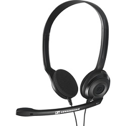 Sennheiser PC 3 Chat Stereo Headset with Dual Plugs LARGE