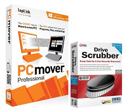 Laplink PCmover Professional with DriveScrubber (Download)