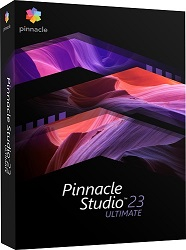 Corel Pinnacle Studio 23 Ultimate with Screen Recorder (Download) LARGE