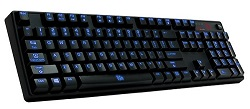 TT eSports POSEIDON Z Illuminated Gaming Keyboard (Blue Switch Edition)