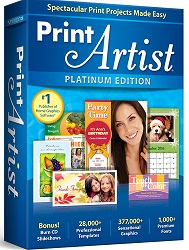 Avanquest Print Artist 25 Platinum for Windows (Download) LARGE