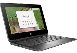 "HP ProBook 11 EE G1 11.6"" Touchscreen Intel Celeron 4GB RAM 32GB Memory 2-in-1 Student Chromebook PC"