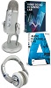 Blue Microphones Yeti USB Microphone Premium Production Bundle for Windows (On Sale!)