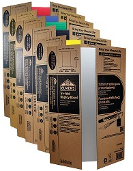 "Elmer's 36"" x 48"" Project Display Boards (25-Pack Assorted)"