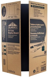 "Elmer's 36"" x 48"" Project Display Boards (25-Pack Black)"