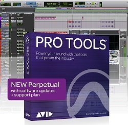 Avid Pro Tools Academic Perpetual License with 1-Year Software Updates + Support Plan (Download) LARGE