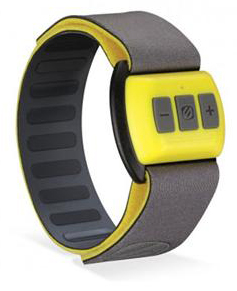Scosche RHYTHM Bluetooth Armband Pulse Monitor (Yellow) (While They Last!)